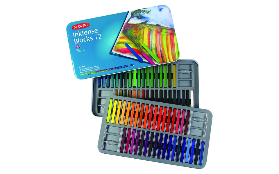 Inktense Blocks range extension