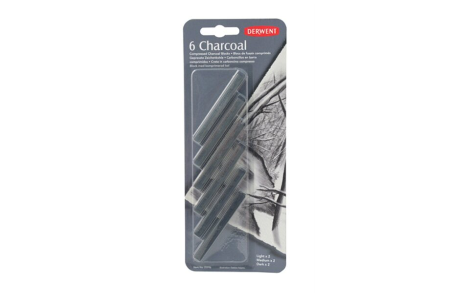 Square Compressed Charcoal!