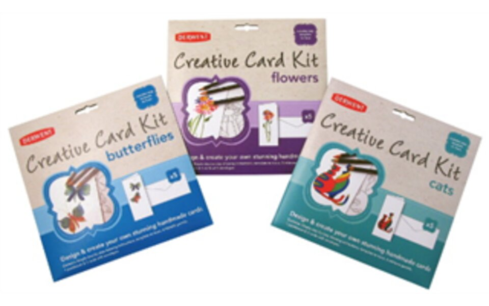 New Derwent card making kits