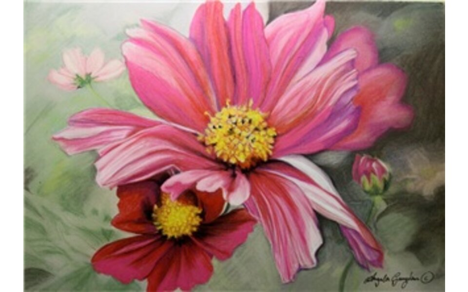 Workshop - The Artist/Leisure Painter: Expressive Flowers in Pastel Pencils & Pastels with Angela Gaughan