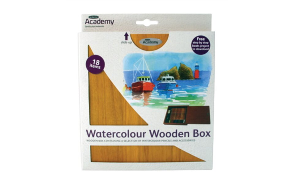 New Academy Watercolour Box!