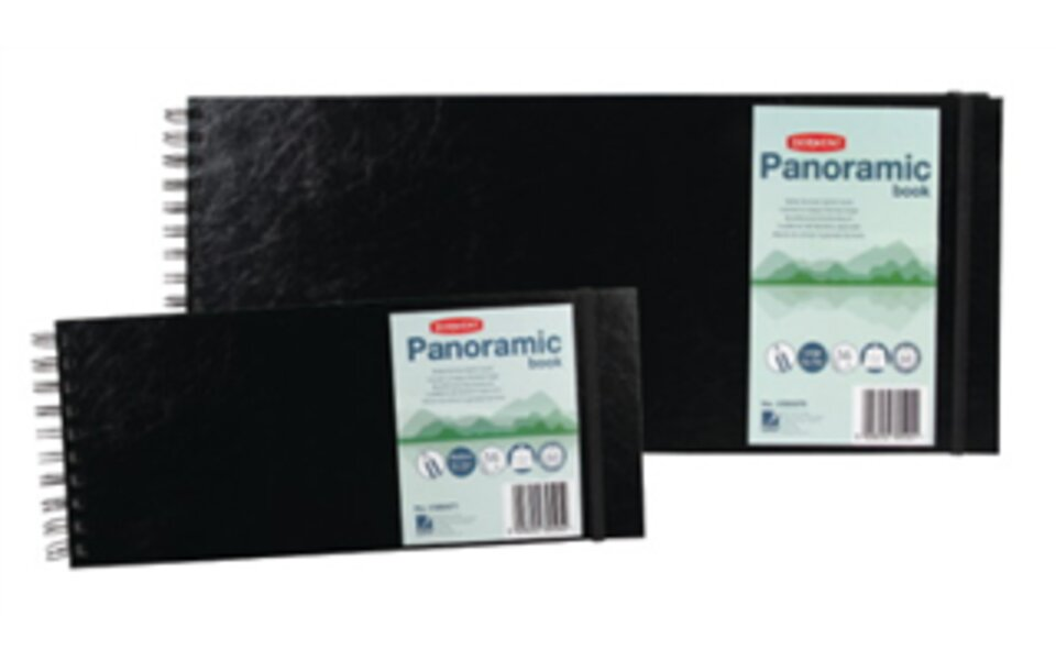New Panoramic Sketch Books!