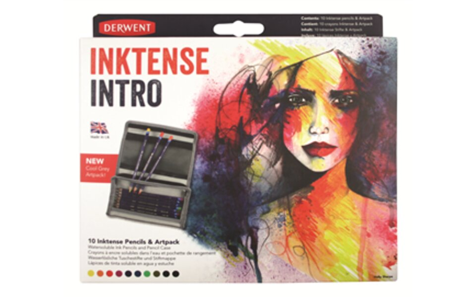 New Derwent Inktense Intro and Inktense Wrap Set