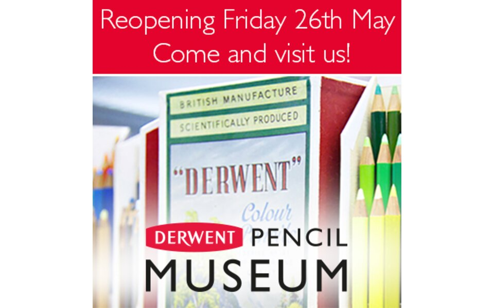 Derwent Pencil Museum re-opens in the Lake District