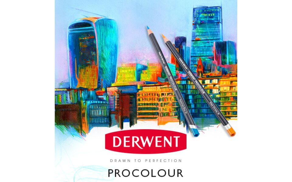 Derwent® announce launch of the NEW Procolour range
