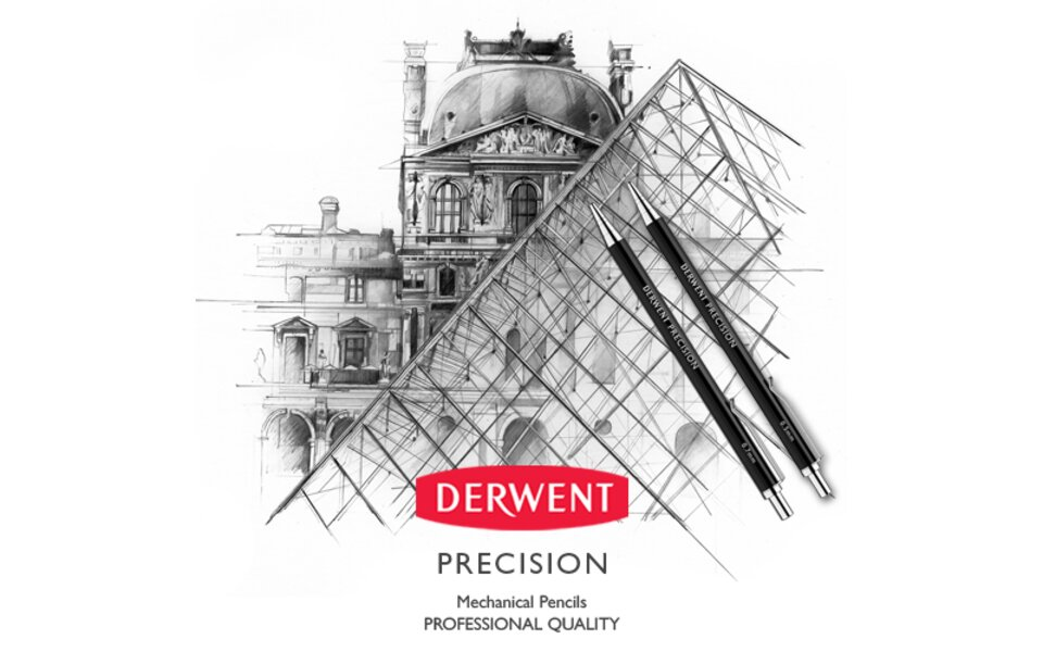 Derwent Launch First Mechanical Pencil: Precision