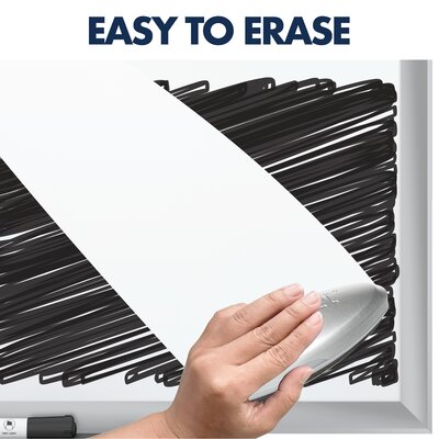 Easy to Erase. Stain Resistant.
