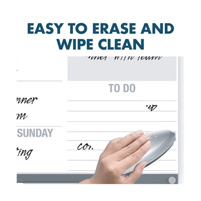 Easy To Clean. Easy To Erase.
