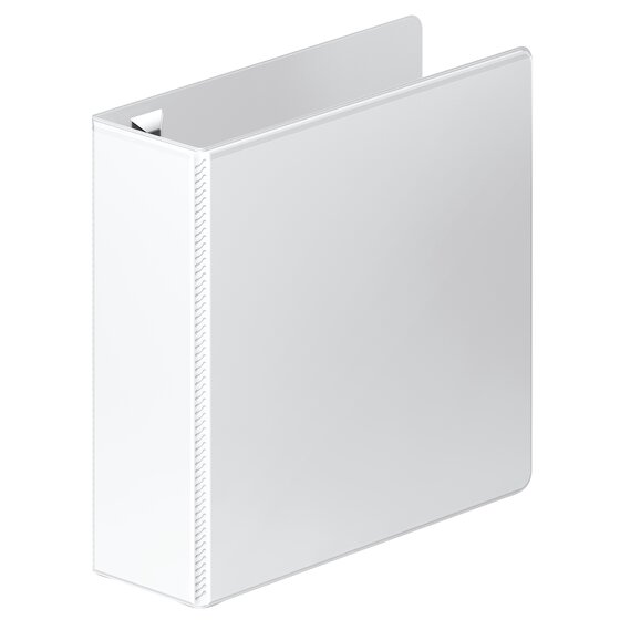 """Wilson Jones Ultra Duty Round Ring View Binder with Extra Durable Hinge, 3"""", White, 6 Pack"""