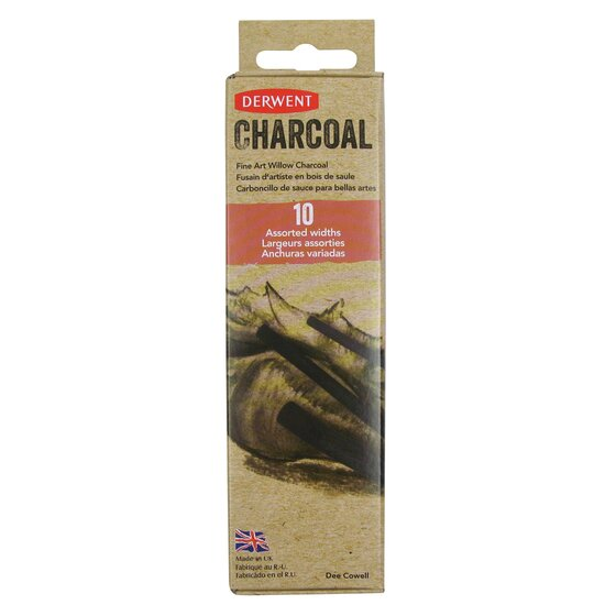 Willow Charcoal Assorted 10