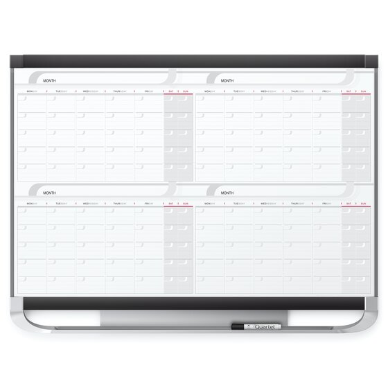 Quartet Prestige 2 Magnetic Calendar Boards