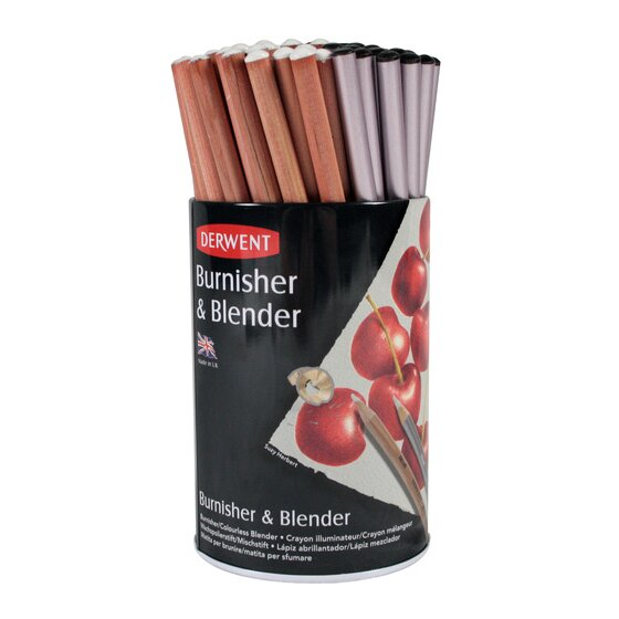 Derwent Blender and Burnisher Pencil 72 Tub