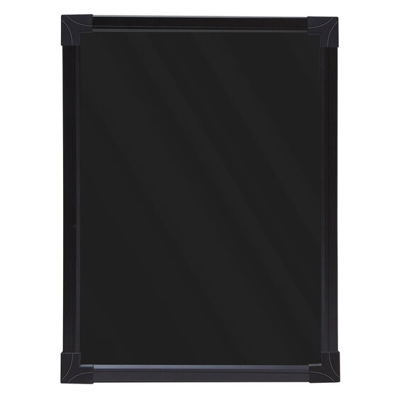 "Quartet® Black LED Wet/Dry-Erase Board, Battery Operated, 17 1/3"" x 13"""