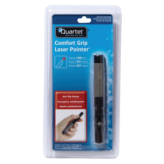 Classic Comfort Laser Pointer, Class 3a, Large Venue, Gray