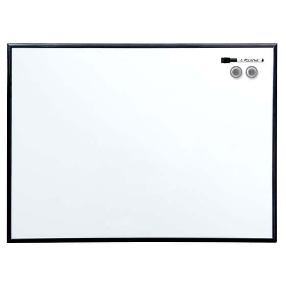 Magnetic Dry-Erase Board, 3' x 2', Anodized Aluminum Frame