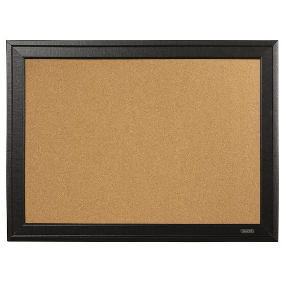 Cork Board with Black Wooden Frame 585x430mm