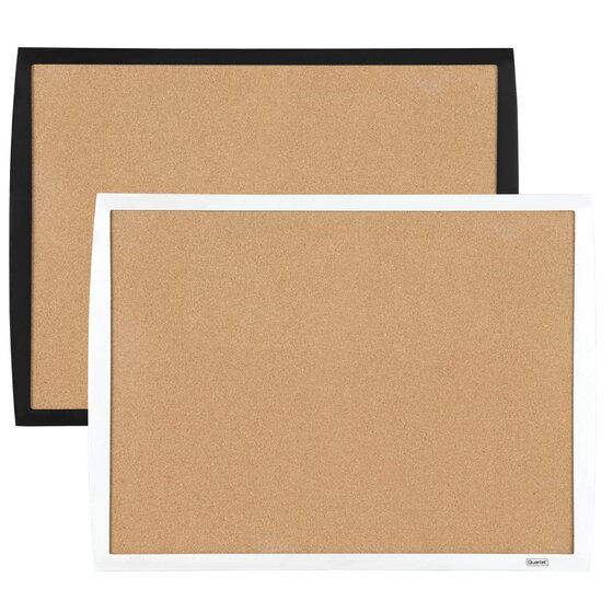 """Bulletin Board, 17"""" x 23"""", Curved Frame, Assorted Colors"""