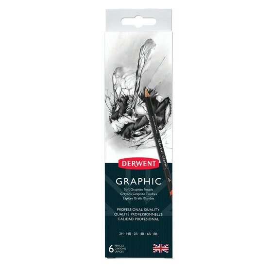 Graphic Pencils 6 Tin