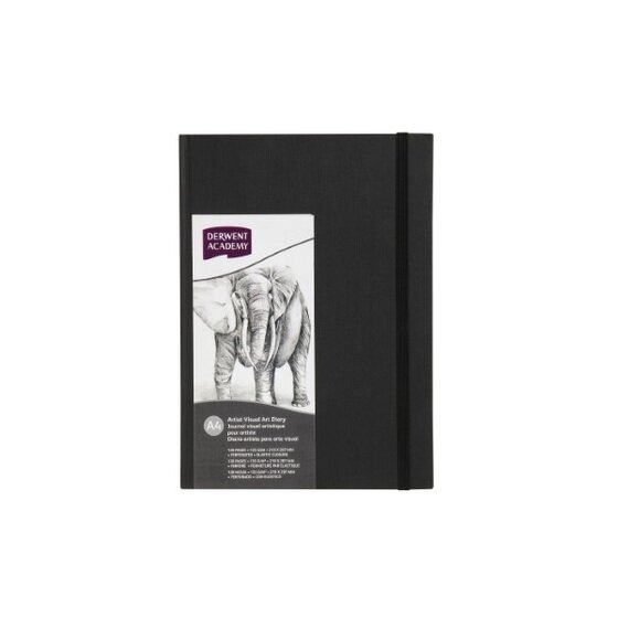Hardcover Casebound Visual Art Diary A4 Portrait (128 pages)