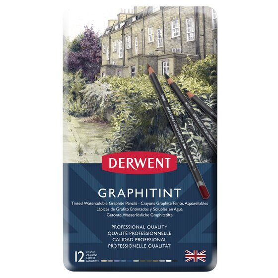 Graphitint Pencils 12 Tin