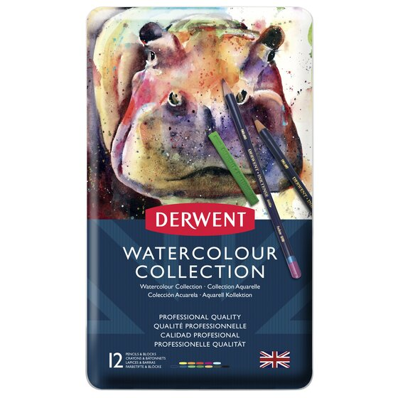 Watercolour Collection 12 Tin