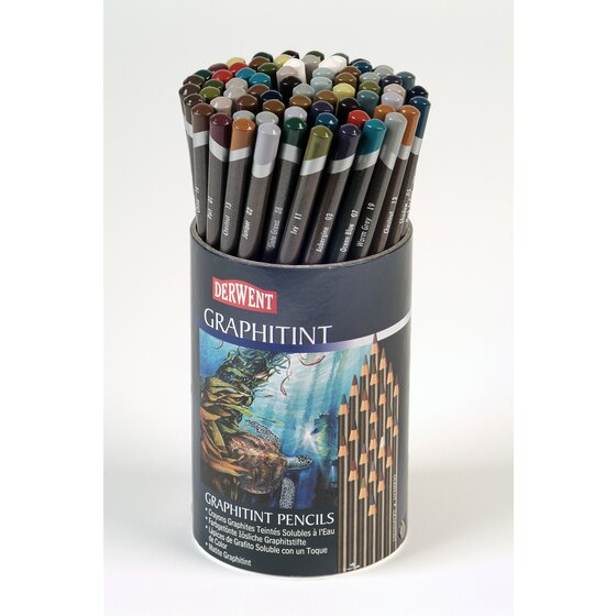 Derwent Graphitint Pencils 72 Tub