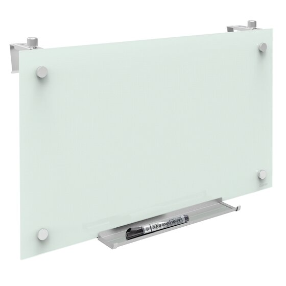 Quartet Infinity Magnetic Glass Dry-Erase Cubicle Boards