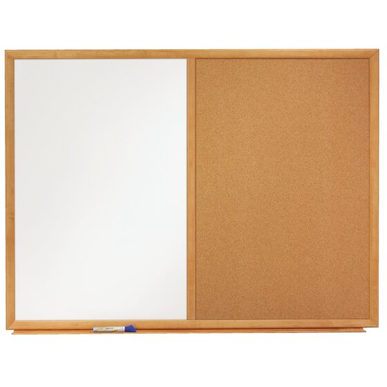 Quartet Standard Combination Whiteboard/Cork Bulletin Boards