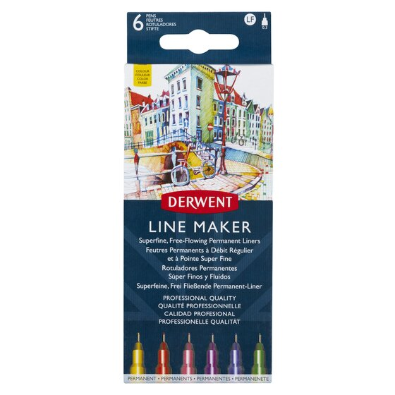 Derwent Line Maker Colour (6)