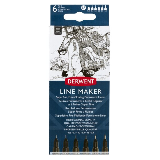 Derwent Line Maker Black (6)