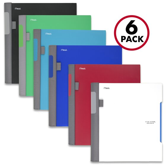 Five Star Advance Wirebound Notebook Multipacks, 1 Subject