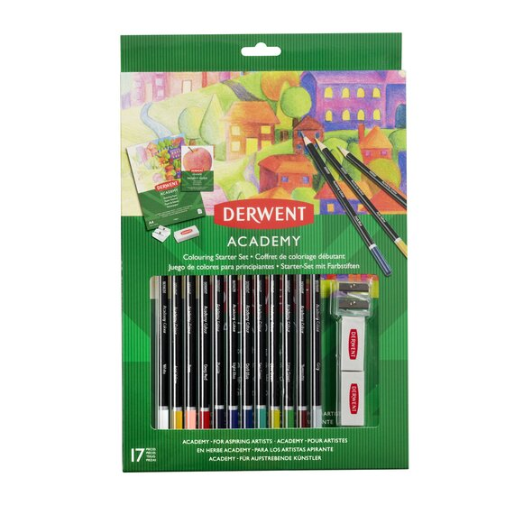 Derwent Colouring Starter Set