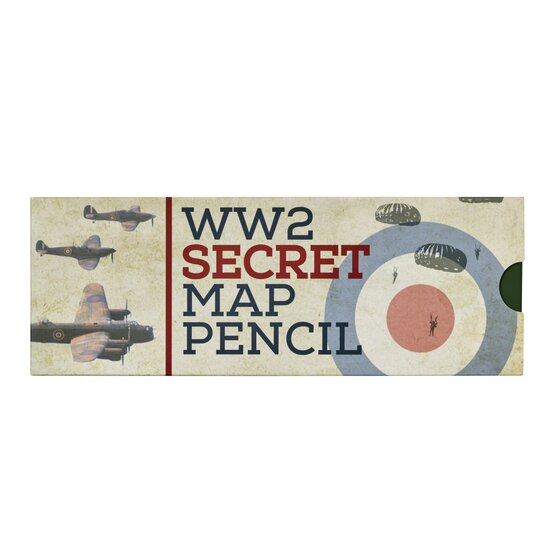 WW2 Secret Map Souvenir Pencil