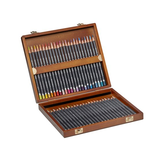 Derwent Procolour (48) wooden box