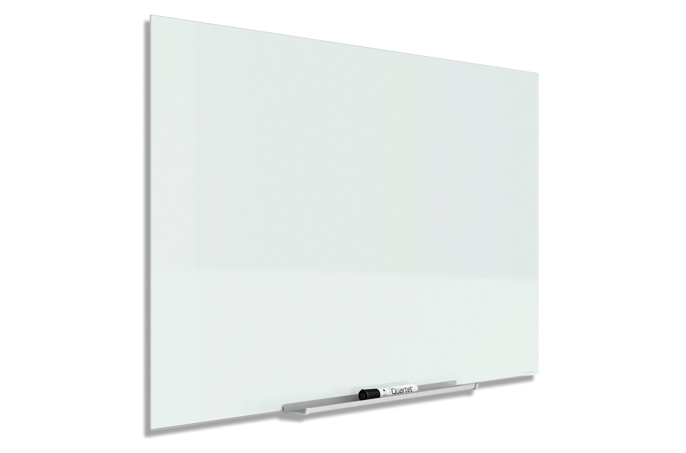 Quartet Invisamount Magnetic Glass Dry Erase Boards Glass Boards Quartet