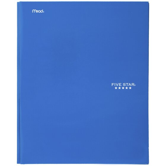 Five Star 2-Pocket And Prong Paper Folders