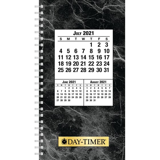 "Day-Timer 2021-2022 Two Page Per Day Original Planner Refill, Wirebound, Pocket Size, 3 1/2"" x 6 1/2"""