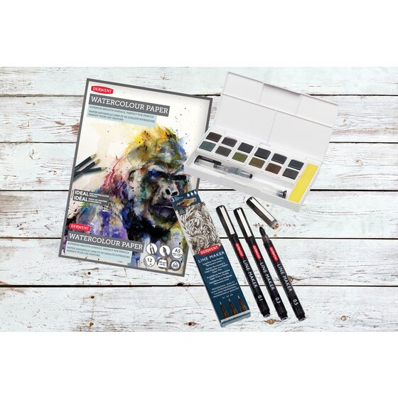 Graphitint Line And Wash Set