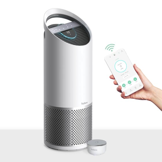 TruSens Smart Air Purifier,Large,with Air Quality Monitor, Z-3500