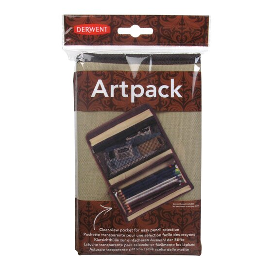 Derwent Artpack Canvas Pencil Case