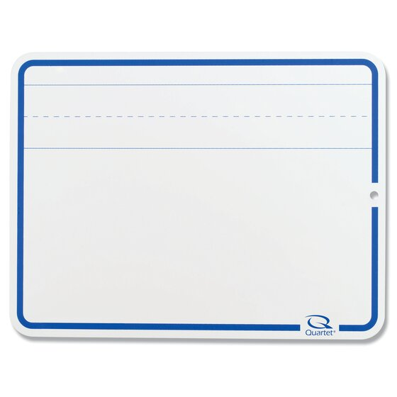 """Education Lap Board, 9"""" x 12"""", Lined Dry-Erase Surface, Marker Included"""
